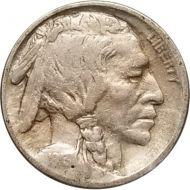 1913 Buffalo Nickel Type 1 - F (Fine)