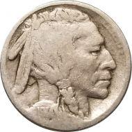 1914 S Buffalo Nickel - VG (Very Good)