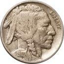 1917 D Buffalo Nickel - VF (Very Fine)