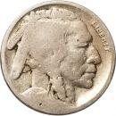 1917 S Buffalo Nickel - G (Good)