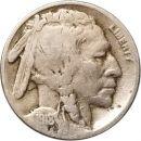 1918 S Buffalo Nickel - F (Fine)