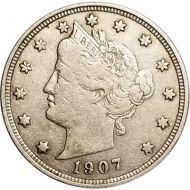 1907 Liberty Nickel - VF (Very Fine)