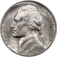 1965 Jefferson Nickel - Brilliant Uncirculated