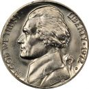 1972 D Jefferson Nickel - Brilliant Uncirculated