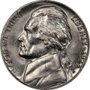 1973 D Jefferson Nickel - Brilliant Uncirculated