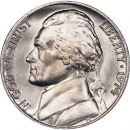 1974 Jefferson Nickel - Brilliant Uncirculated