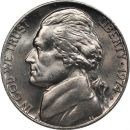1974 D Jefferson Nickel - Brilliant Uncirculated