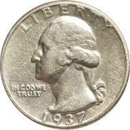 1937 Washington Quarter - Extra Fine