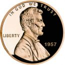 1957 Proof Lincoln Cent