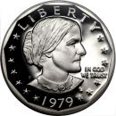 1979 Proof Susan B Anthony Dollar - Type 1
