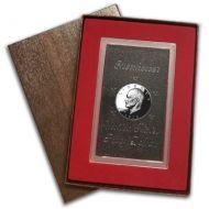 1973 Proof Eisenhower Dollar - Silver - Brown