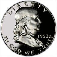 1952 Proof Franklin Half Dollar