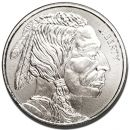 1 oz Silver Rounds - Buffalo Design