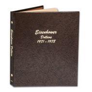 Dansco Eisenhower Dollars 1971 to 1978 - #7176