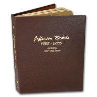 Dansco Jefferson Nickels 1938 to 2005 w/Proofs - #8113
