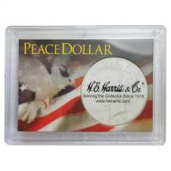 H.E. Harris 2x3 Peace Silver Dollar Frosted Case Holder
