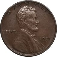 1911 D Lincoln Wheat Penny - AU (Almost Uncirculated)