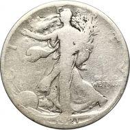 1921 S Walking Liberty Half Dollar - VG Detail (Very Good)